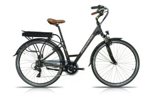 Bici Top City 28 Gris